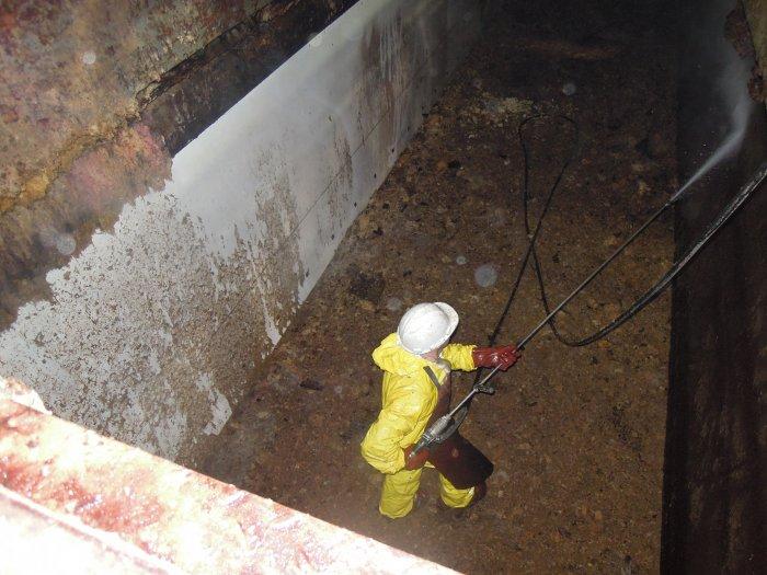 Nettoyage haut pression en industrie