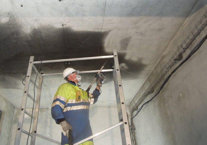 Nettoyage cryogénique après incendie
