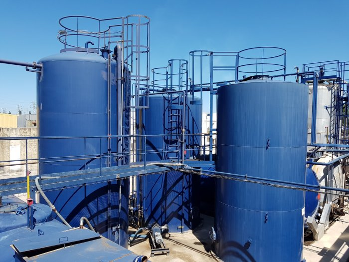 Installation de déhydratation et de traitement de déchets